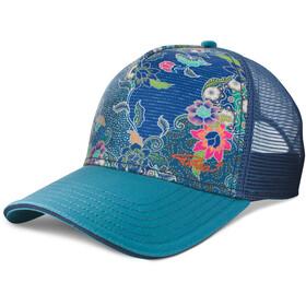 Prana La Viva Trucker Hat Blue Anchor Kona
